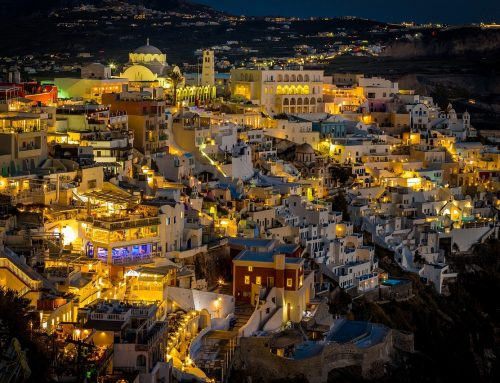 Nights in Santorini