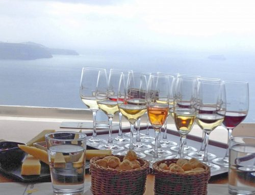 Savor all the flavors and aromas of Santorini in a glass of wine!