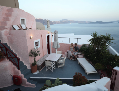 Enjoy Aspyn's video from her vacation at Santorini Paradise Cave houses